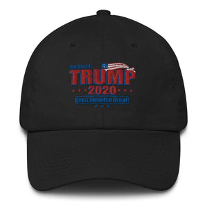Trump 2020 Hat Made in USA Cotton Cap