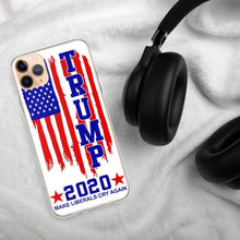 Load image into Gallery viewer, Trump 2020 Make Liberals Cry again iPhone Case