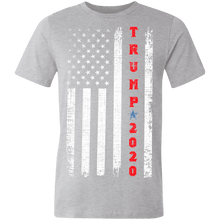 Load image into Gallery viewer, Trump 2020 Patriotic Made in the USA Jersey Short-Sleeve T-Shirt