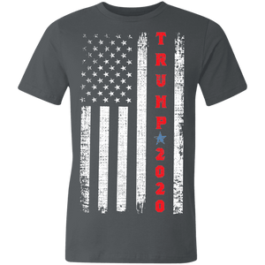 Trump 2020 Patriotic Made in the USA Jersey Short-Sleeve T-Shirt