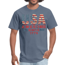 Load image into Gallery viewer, USA Awesome Since 1776 Men's T-Shirt