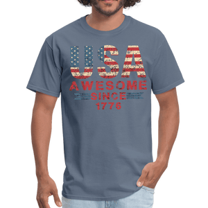 USA Awesome Since 1776 Men's T-Shirt