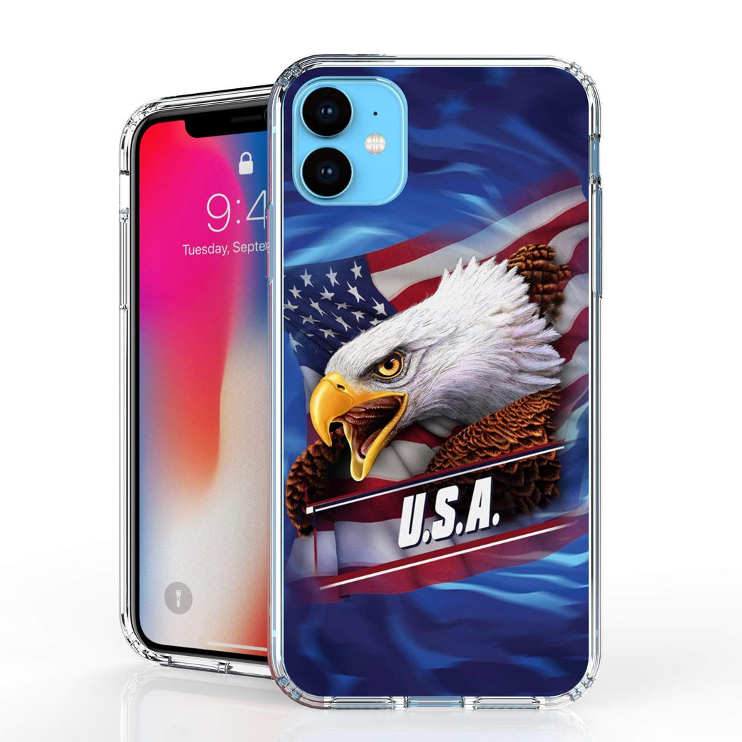 USA Eagle American Flag iPhone Case For iPhone 11