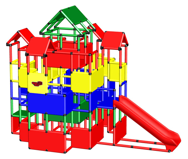 Castle 3 with Integrated Slide