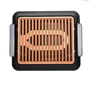 Non-Stick Fast BBQ Smokeless Grill-Indoor Electric Grill - DogsandHome