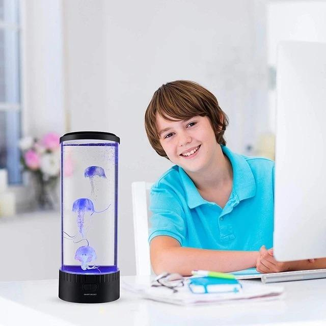 Jellyfish  LED  Relaxing Night Lamp - DogsandHome