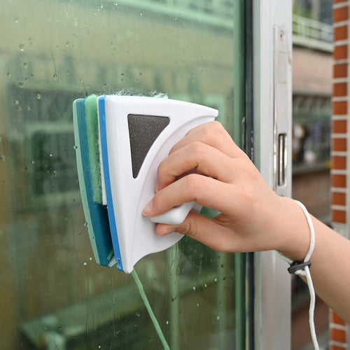 Magnetic Double Side Glass/ Window Wiper - DogsandHome