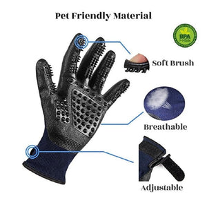 NEW Magic Pet Grooming Gloves - DogsandHome