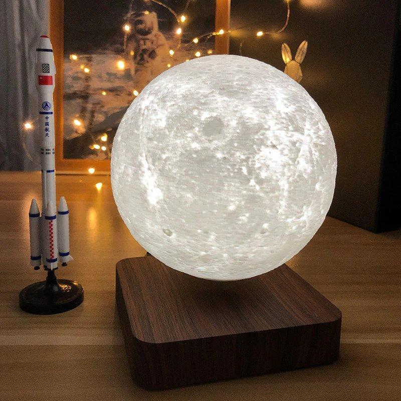 Levitating Moon Lamp - DogsandHome