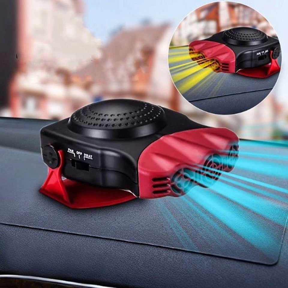 2 In 1 Auto Car Portable Heater And Fan - DogsandHome