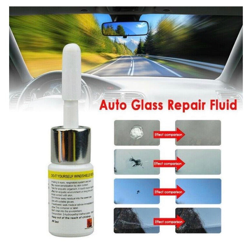 NEW Automotive/Mobile Glass Nano Repair Fluid - DogsandHome