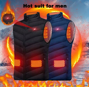 Electric Heating Vest - USB Heated Jacket - DogsandHome