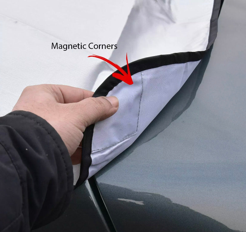 FROST SHIELD MAGNETIC CAR WINDSCREEN COVER - DogsandHome