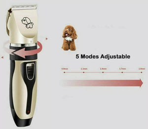 New Electric Dog Grooming Kit - DogsandHome