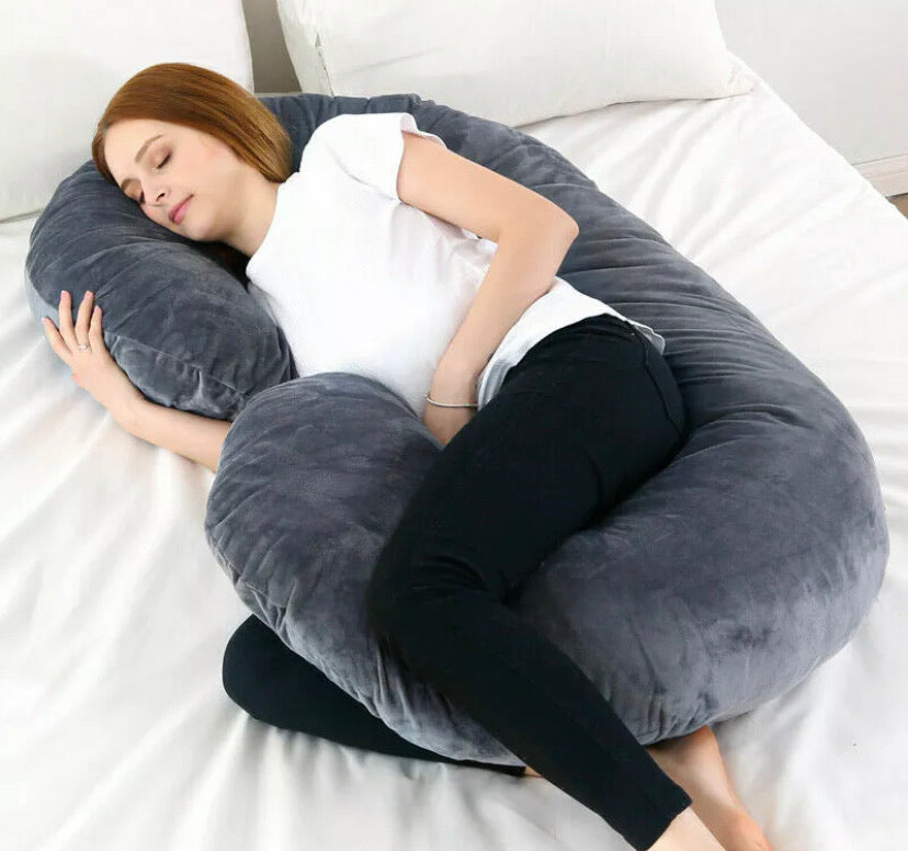 Total Body Support Pregnancy Pillow - DogsandHome