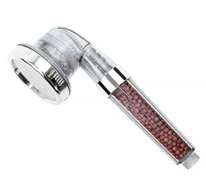 Shower Head 300% High Turbo Pressure Ionic 3 Filters UK - DogsandHome