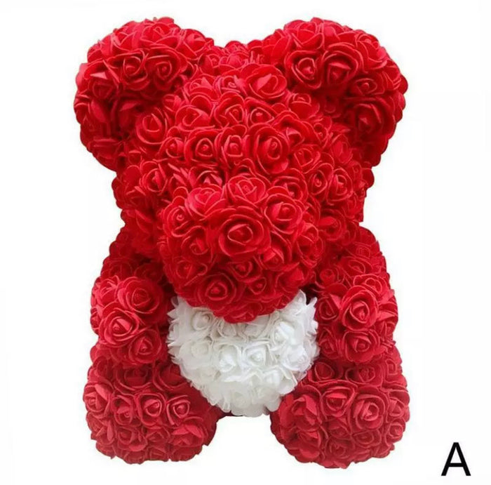Rose Bear Valentine's Day Gift - DogsandHome
