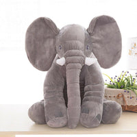 "NEW - 24"" Big Soft Plush Stuffed Elephant Pillow - DogsandHome"