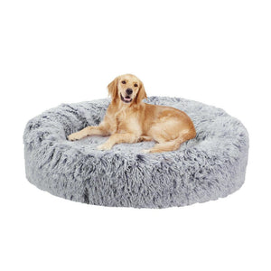 NEW- Waterproof Soft Round Donut  Dog Bed - DogsandHome