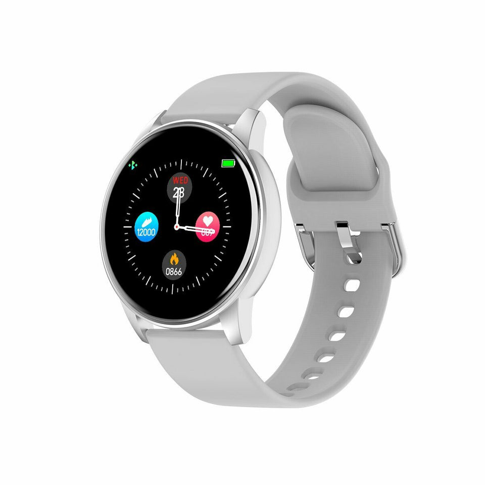 Ladies Smart Watch IP67  For iOS Android UK - DogsandHome