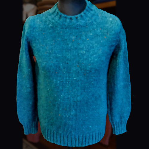 McConnell wool sweater - blue