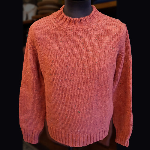 McConnell wool traditional sweater - pink