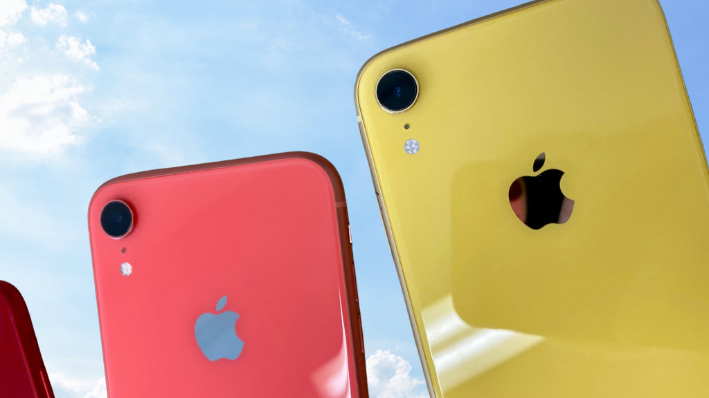 iPhone XR coral yellow Frank Mobile Blog