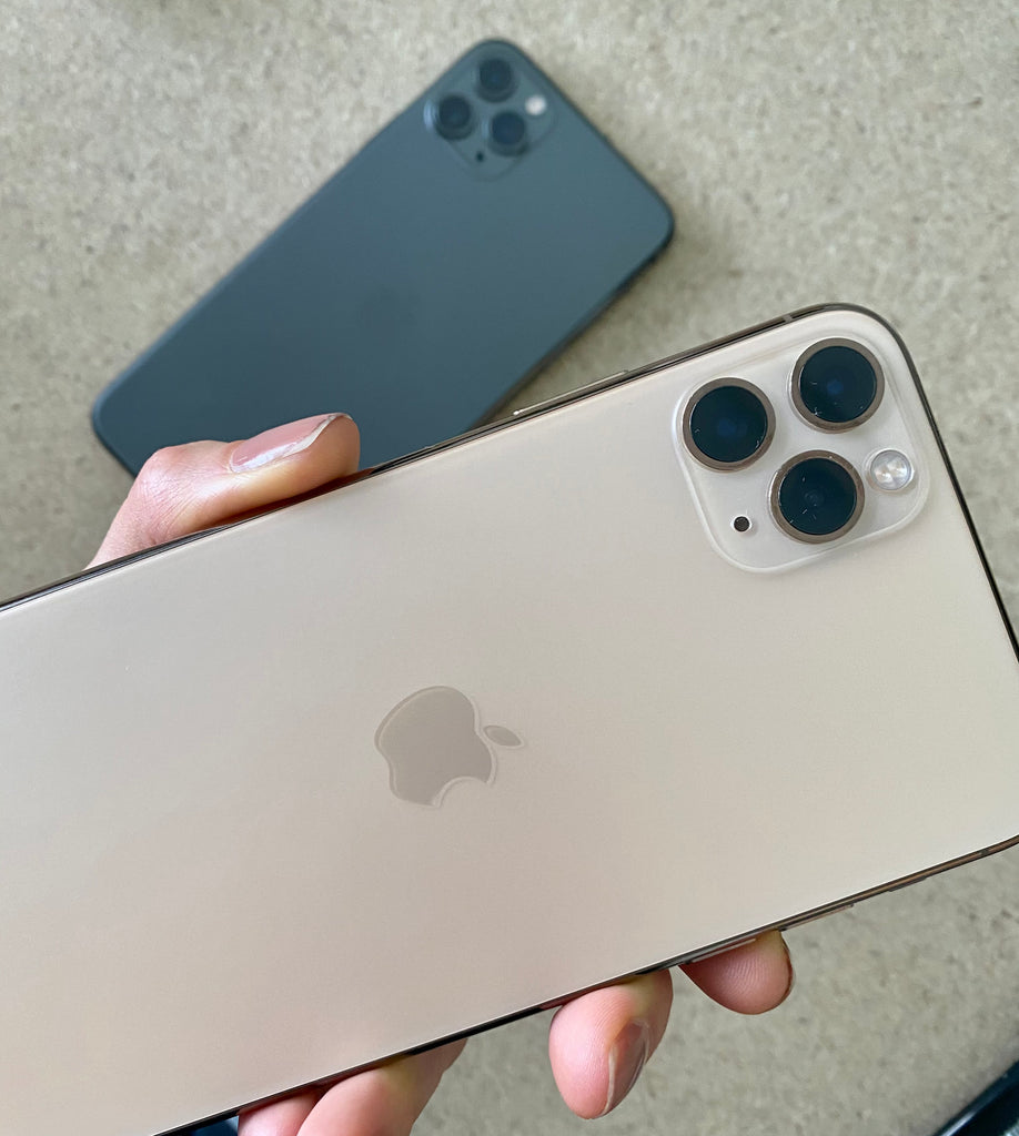 iPhone 11 Pro Max Gold and Space Grey Frank Mobile
