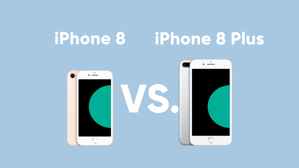 iPhone 8 and iPhone 8 Plus Graphic