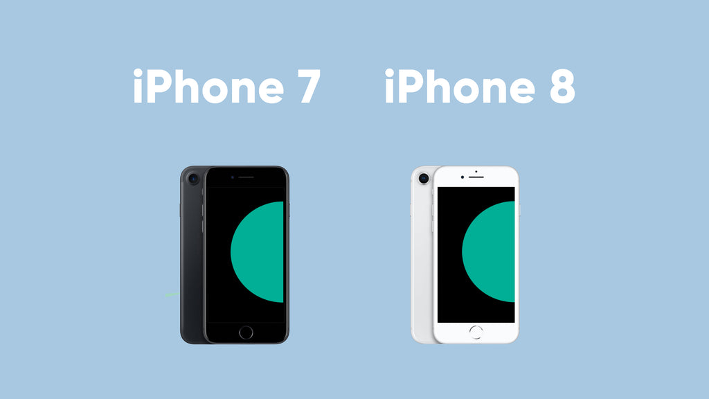 iphone 7 and iphone 8 graphic Frank Mobile Australia