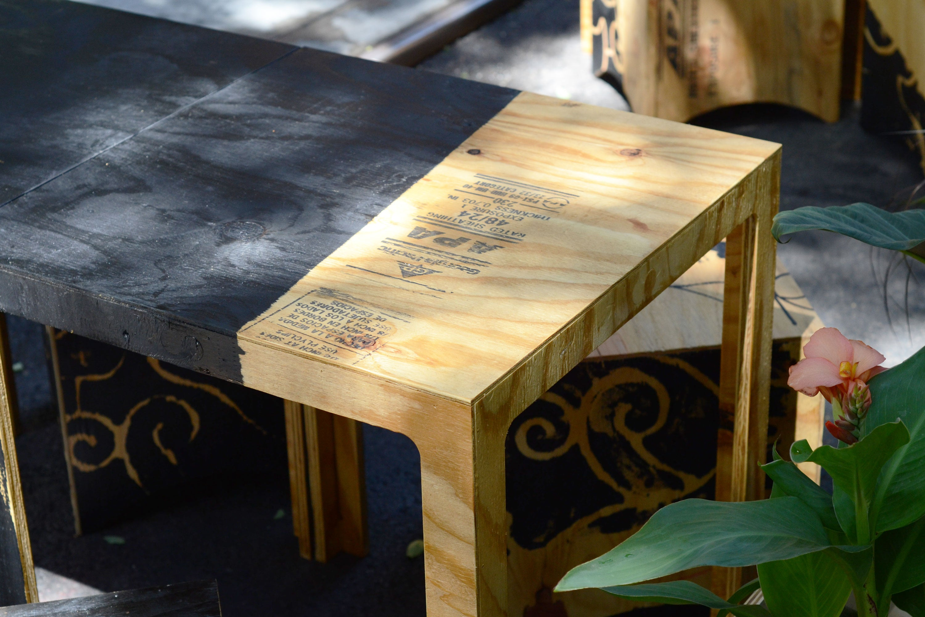 "Table - 25"" square - from $99"