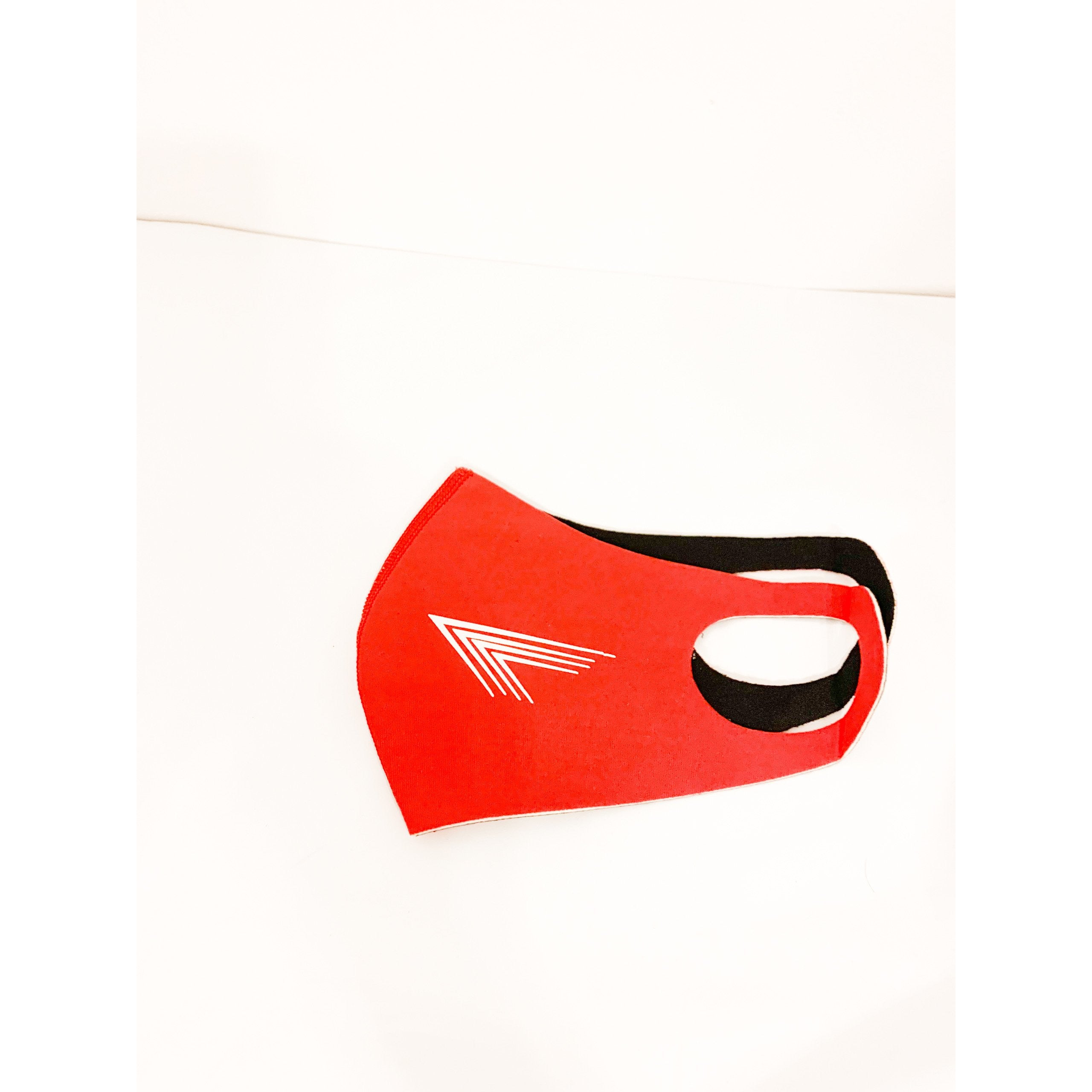 Pandemic Mask in Red