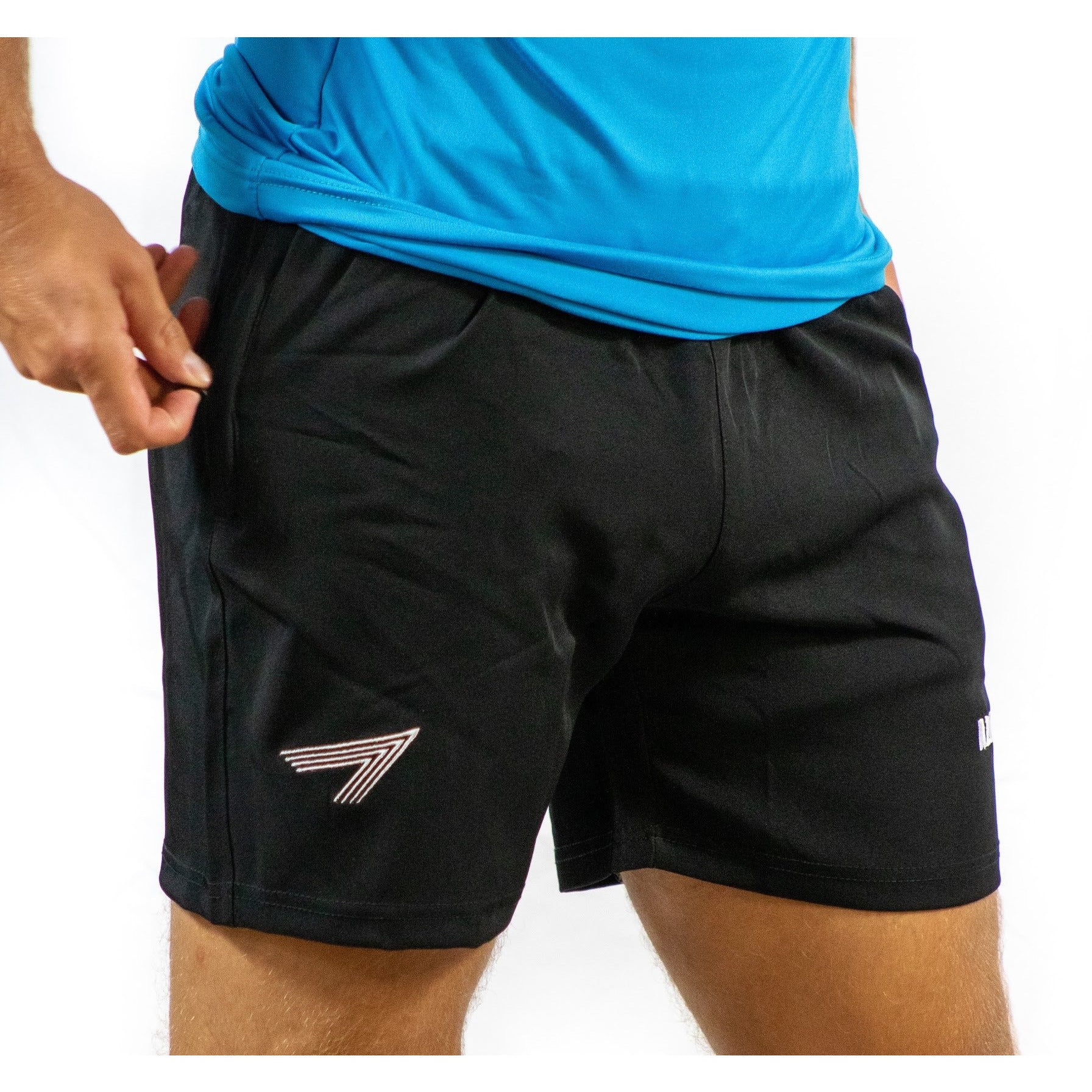 Black Squatting Shorts