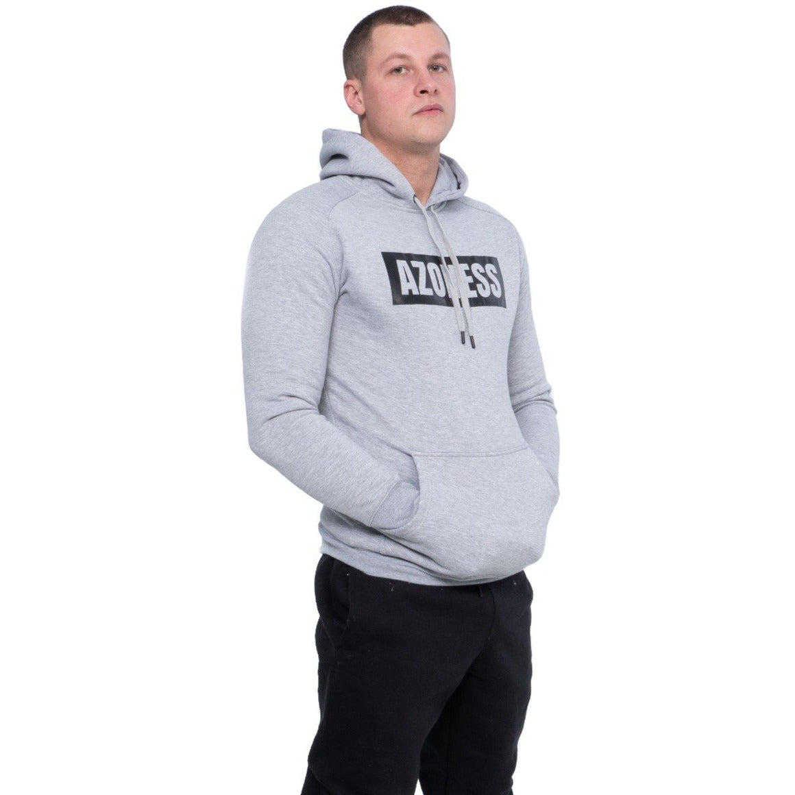 Vital Hoodie In Grey  Cancel Save