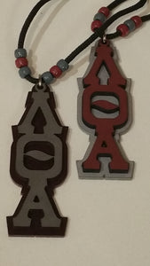 Lambda Theta Alpha - Leatherette Tiki with Letters