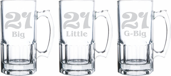 Sisters 21st Birthday 34oz Mug