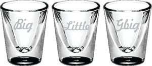 Big/Little - Shot Glass, Collectors - 5122
