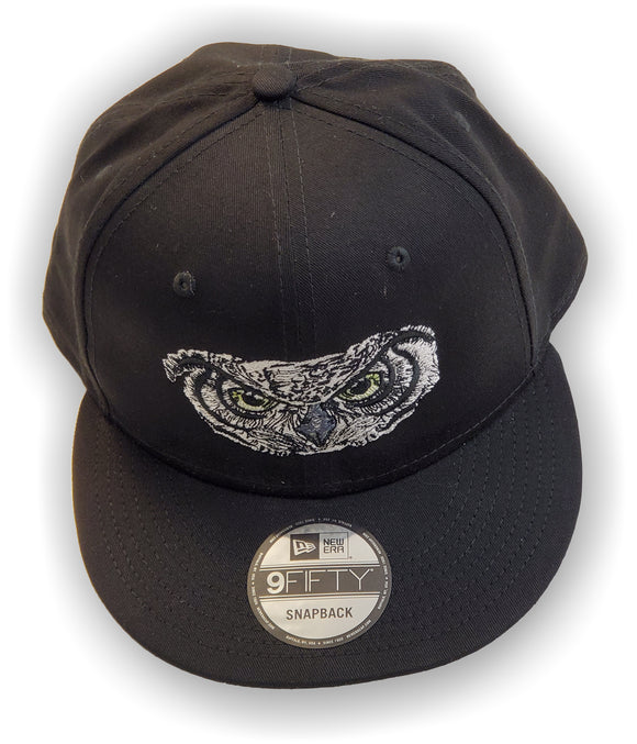 Gamma Xi Gamma – Baseball Cap, Embroidered, NE400 Snapback Cap - Owl and Letters
