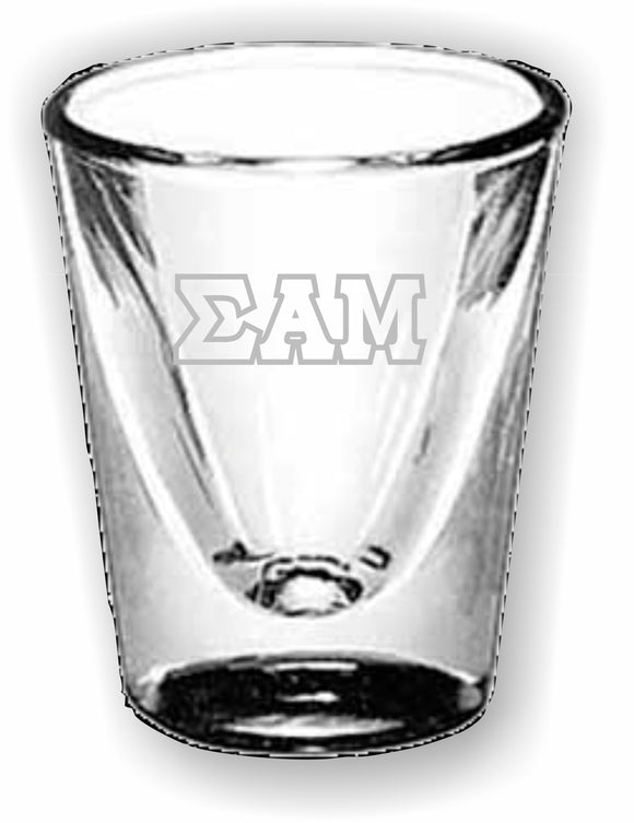 Sigma Alpha Mu – Shot Glass, Collectors – 5122