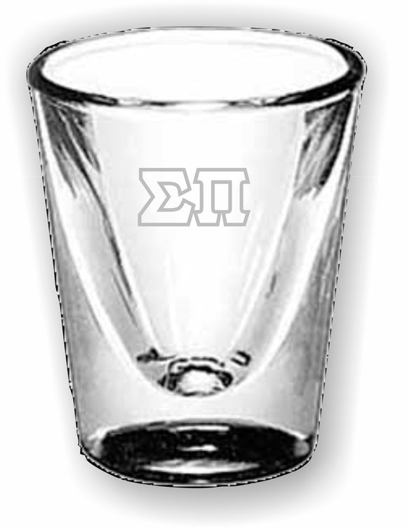 Sigma Pi – Shot Glass, Collectors – 5122