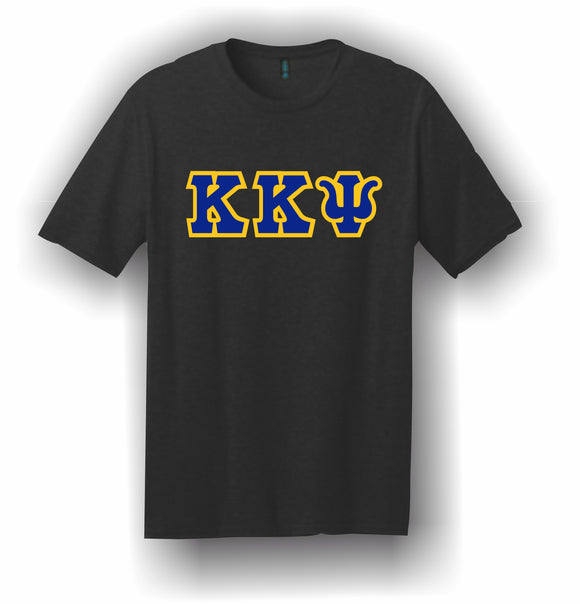 Kappa Kappa Psi – T-Shirt, Embroidered (Single Stitched)  – 5180 Hanes® Beefy-T® - 100% Cotton T-Shirt