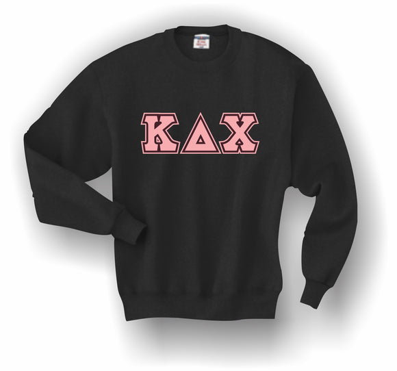 Kappa Delta Chi – Crewneck Sweatshirt, Embroidered (Double Stitched)–4662M JERZEES® SUPER SWEATS®