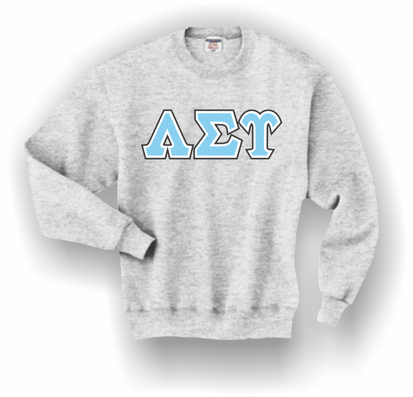 Lambda Sigma Upsilon – Crewneck Sweatshirt, Embroidered (Double Stitched) – 4662M JERZEES® SUPER SWEATS®
