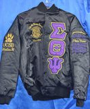 Sigma Theta Psi - Custom Baseball Line Jacket