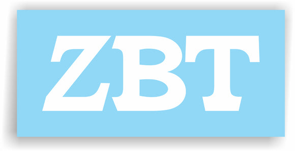 Zeta Beta Tau – Decal for Car, Laptop or Anywhere; Vinyl Decal in 2 Inch or 3 Inch sizes