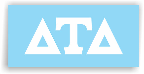 Delta Tau Delta – Decal for Car, Laptop or Anywhere; Vinyl Decal in 2 Inch or 3 Inch sizes