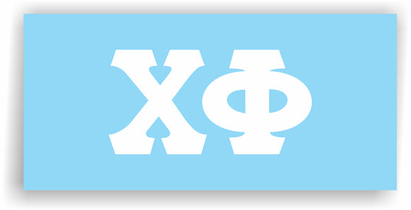 Chi Phi – Decal for Car, Laptop or Anywhere; Vinyl Decal in 2 Inch or 3 Inch sizes