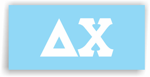 Delta Chi – Decal for Car, Laptop or Anywhere; Vinyl Decal in 2 Inch or 3 Inch sizes