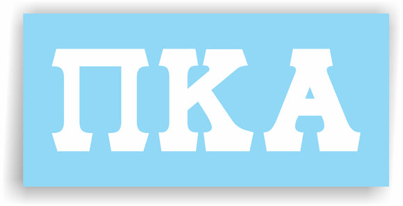 Pi Kappa Alpha– Decal for Car, Laptop or Anywhere; Vinyl Decal in 2 Inch or 3 Inch sizes