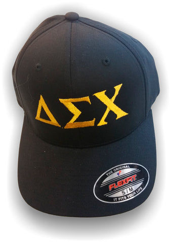 Delta Sigma Chi - FlexFit Cap with Greek Letters